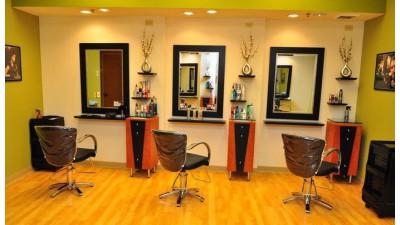 Какой цвет стен стоит выбирать для парикмахерской?