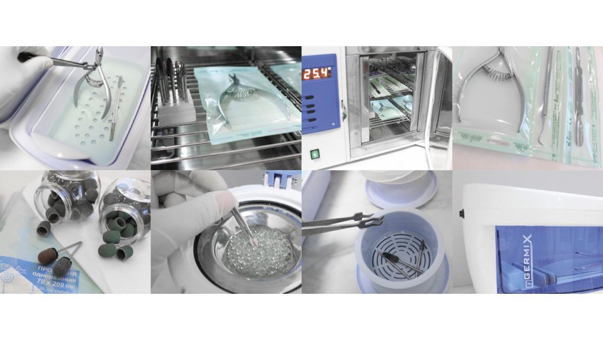 Как делать стерилизацию инструментов в салоне красоты