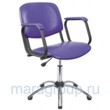 Кресло парикмахерское Контакт хром