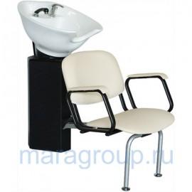 Купить - Мойка парикмахерская Аква с креслом Контакт