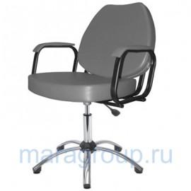 Купить - Кресло парикмахерское Соло хром