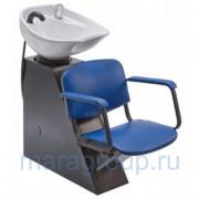 Мойка парикмахерская Елена с креслом Контакт