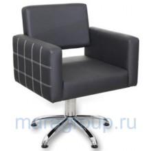 Кресло парикмахерское Брайтон декор