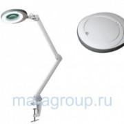 Лампа-лупа люминисцентная на кронштейне (5 диоптрий) H 10443