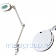 Лампа-лупа люминисцентная на кронштейне (8 диоптрий) H 10444