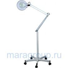 Лампа-лупа люминисцентная на штативе (5 диоптрий) Х 01