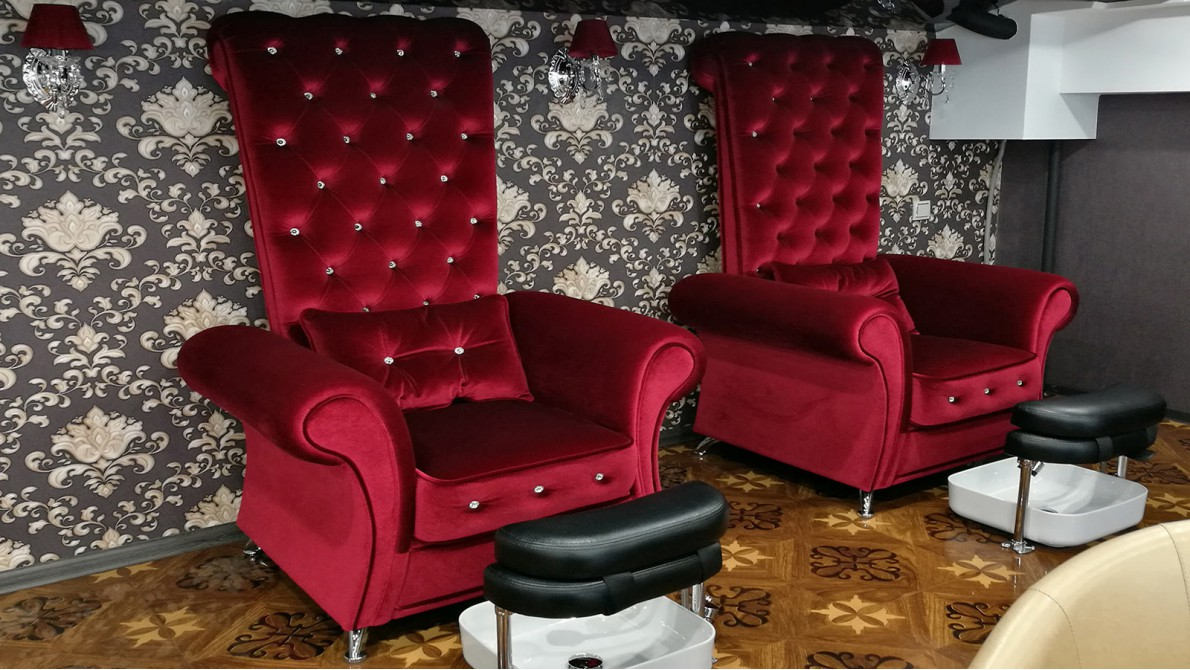 Виды и выборе мебели для салона красоты