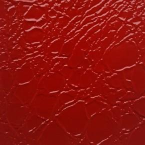 Красный лаковый текстурный 91